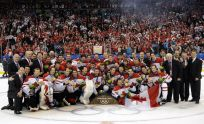 The 2010 Olympic Men's Hockey Team (Daniel Mallard/QMI Agency)